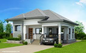 bungalow house designs begilda elevated gorgeous 3 bedroom modern bungalow house