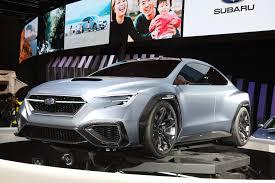 subaru concept 2017 the next subaru wrx sti will almost definitely be a hybrid motor