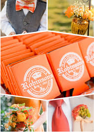 Wedding Ideas For Fall Orange Wedding Color Ideas Invitesweddings Com