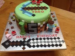 mindcraft cake minecraft birthday cake