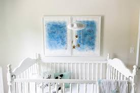 gold vintage crib design ideas