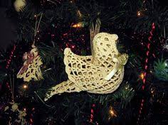 crochet ornaments turtle doves crochet ornaments bird