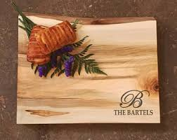 personalized cheese platter personalized cutting board chef cutting board cutting