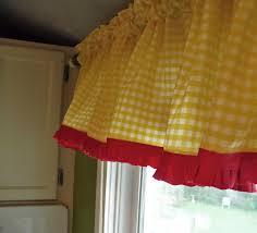 yellow kitchen curtains modern yellow kitchen curtains home design ideas