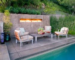 Modern Outdoor Gas Fireplace by Fireplace Modern Outdoor Fireplace Designs With Swimming Pool Gray