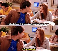 October 3 Meme - happy mean girls day of the day humour