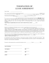 Tenant Notice Of Termination by Lease Termination Letter For Equipment Template Example Related