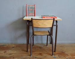 Kid School Desk School Chair Etsy