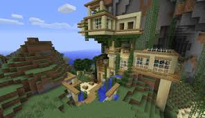 mountain house minecraft minecraft seeds pc xbox pe ps4