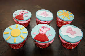 peppa pig cupcakes the cake trail peppa pig cupcakes