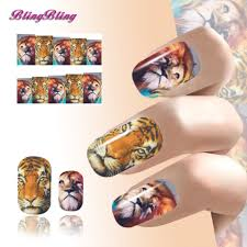 online get cheap tiger nail design aliexpress com alibaba group