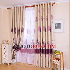 purple tree patterns windows or front door curtains buy colorful
