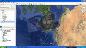 proof god is real google earth images jesus u0027 face youtube