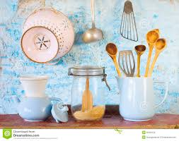 various vintage kitchen utensils royalty free stock photo image