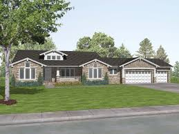 house plans craftsman one story
