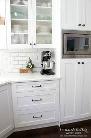 Kitchen Hardware Ideas Kitchen Design White Kitchen Cabinets With Black Pulls Hardware