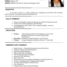 Successful Resume Format Home Design Ideas Professional Gray Cv Samples Download Pdf In