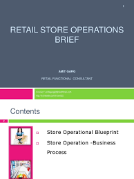 retail store operations retail invoice