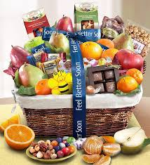 feel better soon gift basket better fruit gift basket