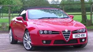 alfa romeo spider 2 2 jts 2dr youtube
