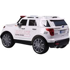 suv jeep white rebo ford police interceptor style 12v child u0027s ride on jeep