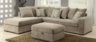 suede sectional sofas taupe microfiber sectional sofa by coaster 50044
