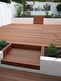 Split Level Patio Designs by Small Decked Gardens Google Search Small Decked Garden