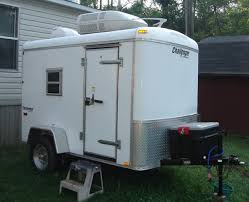 Enclosed Trailer Awning For Sale Installing Window On Enclosed Cargo Trailer 2compact Travel