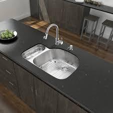Kitchen Sink With Faucet Set Vigo Vg15323 32 In Undermount Stainless Steel Double Kitchen Sink