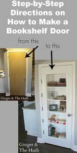 Swinging Bookcase View How Do You Make A Door Into A Swinging Bookcase Home Design
