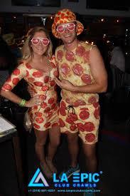 Pizza Halloween Costume 15 Halloween Costumes La Epic Club Crawls Los Angeles