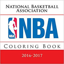 nba coloring book all 30 national basketball association logos to