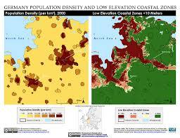Australia Population Map Maps Low Elevation Coastal Zone Lecz Sedac