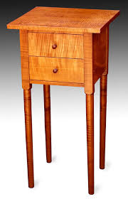 shaker style side table elegant shaker style end table finewoodworking shaker end table plan