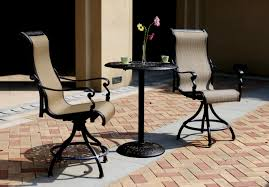 High Chair Patio Furniture Chair And Table Design Patio Bistro Table And Chairs Compact