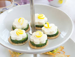 canapes recipes cucumber feta canapés teatime magazine