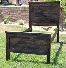 farmhouse twin queen full double or king wood bed