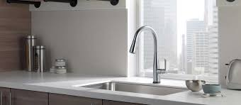 kitchen faucets touch technology kitchen kitchen faucets touch technology delta faucet with the