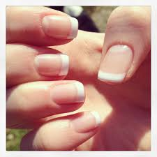 french gel manicure wedding nails no fake nails beauty