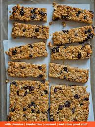 Top 10 Healthiest Granola Bars by 23 Delicious Diy Granola Bar Recipes