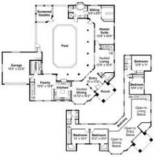 pool home plans house plans with pool courtyard luxury home plans designed around