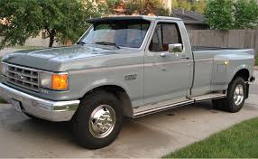 Ford F350 Truck Specs - gray 1987 1ton ford f350 diesel dually