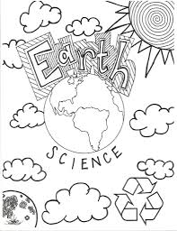 Earth Science Coloring Page Cover Middle School Teaching For In Coloring Pages Middle School