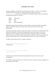 Bill Of Sale Vehicle As Is by Download Car Sale Delivery Slip Docshare Tips