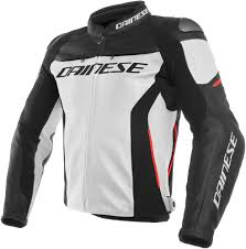 white motorcycle jacket 569 95 dainese mens racing 3 armored leather jacket 1077605