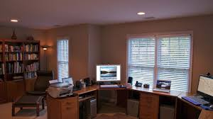 home office design for two people youtube