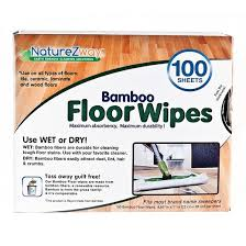 naturezway rayon made from bamboo floor wipe 100 sheet target