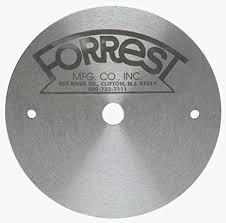 forrest table saw blades forrest stif05 5 inch saw blade dener and stiffener with 5 8 inch