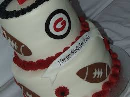 georgia bulldog birthday cake cakecentral com