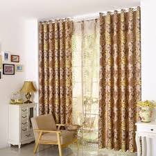 blackout curtains jacquard chenille vintage
